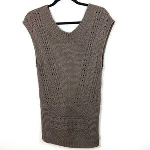Free People Dresses - Free People Autumn Garden Sweater Dress Size Small